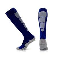 serviette artisanat achat en gros de-Chaussettes de football pour hommes Chaussettes de sport respirantes absorbant la transpiration absorbant la sueur