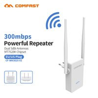 Wholesale wireless router range extender - 10pcs Poweful Wifi repeater Wireless 300Mbps wifi router 10dbi Antenna 2.4Ghz wifi range extender wi-fi amplifier CF-WR302V2