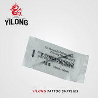 Wholesale tattoo nipples resale online - YILONG Gauge PC Tattoo Piercing Needles Sterile Disposable Body Piercing Needles G For Ear Nose Navel Nipple