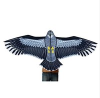 Wholesale toy eagle flying resale online - New Toys m Power Brand Huge Eagle Kite With String And Handle Novelty Toy Kites Eagles Large Flying For Gift