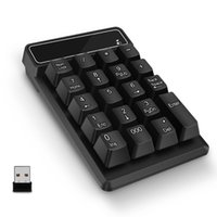 Wholesale number keypad for laptop for sale - Group buy Numeric Keypad G Wireless USB Number Pad Keyboard Waterproof Keys Numpad for Laptop Notebook Ultrabook Desktop Computer