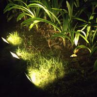 ingrosso luci solari esterne di potenza esterna-30 LED Solar power led Decorazione giardino luce bianca / gialla / verde Luce di inondazione strada paesaggio lampada vacanza illuminazione esterna