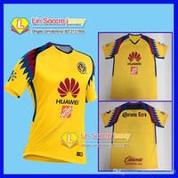 e0114f16262 TOP Quality 2017 2018 LIGA MX Club America soccer Jerseys New home away  Third Yellow 18 19 SAMBUEZA Camisetas O.Peralta maillot de foot