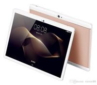 10 inch tablet оптовых-2018 Высокое качество Octa Core 10-дюймовый MTK6582 IPS емкостный сенсорный экран с двумя SIM-картами планшетного ПК и Android 6.0 4GB 64GB