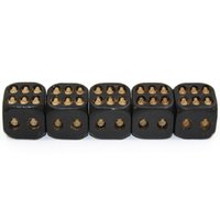 ingrosso bar dadi-Resina Skull Dice Game Black New Fancy Casual Toy Festival Party Drink Beer Dices Giocattoli Bar Forniture 15kb C R