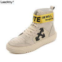 Wholesale male high heels for sale - Group buy Loecktty Hot Casual shoes High Top Canvas Men Shoes Leather Men Scarpe Breathe Shoes Tenis Masculino Male Fashion Autumn