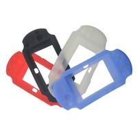 cubiertas para ps vita al por mayor-Cáscara de silicona suave Funda protectora de piel de silicona cubierta de gel para PS Vita 2000 PSV2000 DHL FEDEX EMS ENVÍO GRATIS