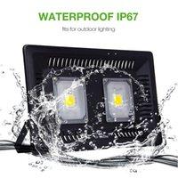 luz de inundación ip67 al por mayor-Iluminación al aire libre del jardín LED de la pared del reflector 110V 220V de la MAZORCA LED de la prenda impermeable IP67 AC de la prenda impermeable IP67