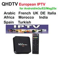 sport tv ao vivo venda por atacado-QHDTV ao vivo Esportes REINO UNIDO Alemanha 1300 + Europa IPTV Árabe Canais Streaming de Conta IPTV Apk trabalho em mag android m3u, MXQ pro tv caixa