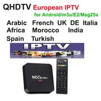 Wholesale google android box - QHDTV live Sports UK Germany 1300+ Europe IPTV Arabic Channels Streaming IPTV Account Apk Work on mag android m3u,MXQ pro tv box