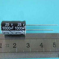 10PCS LOT 25v 1000uf 10*17 Aluminum electrolytic capacitor 1000uF 25v 10x17mm
