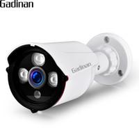 video-sicherheitskamera verdrahtung großhandel-GADINAN IP-Kamera POE ONVIF 1080P 2MP 960P 720P H.265 H.264 verdrahtete Home Network Video Outdoor Weitwinkel Sicherheit RTSP