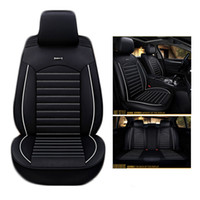 Wholesale accessories for rav4 for sale - Car Travel leather seat cover four seasons Universal Car Seat Covers for Vehicles mazda toyota RAV4 Hyundai volvo ford Seat Cushion