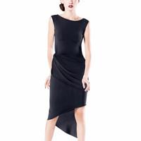 латинские платья для танцев оптовых-Sleeveless Latin Dance Dresses For Ladies Burgundy Colors Fringe Skirts Wears Women Chacha  Ballroom Stage Clothes