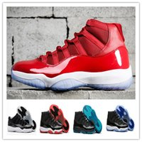 Wholesale Gamma Band - 2017 cheap 11 space jam 72-10 win like 96 basketball shoes bred legend blue discount 11s gamma blue basketball sneakers men women shoes