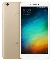 Wholesale max english - Brand New Xiaomi Mi Max2 Max 2 Unlocked Cell Phone Octa Core 4GB 64GB 12.0MP 6.44 Inch Dual Sim Fingerprint