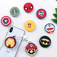 Wholesale batman cell phones for sale – best Super Hero Superman Batman Holder with Stand Unique Cell Phone Holder Fashion for iPhone Plus X Samsung S8 plus
