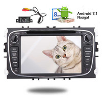 Wholesale ford maps - EinCar Android 7.1 system 7'' GPS Navigation Navi Map Car DVD Player in Dash Headunit Car Stereo Auto Radio 1080P Mirror Link