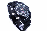Wholesale photo cmos online - Full HD P Photo video IR camera watch MINI DV DVR Waterproof Pinhole Camera GB GB GB Sport Wrist Watch Camera