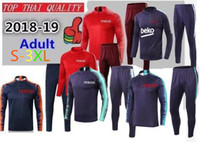Wholesale Messi Suarez training suit cutino color track suit tights trainers sportswear Messi track suit Barcelonas sweater