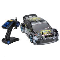 Wholesale nitro electric cars - 94177 Nitro Powered Off-road Sport Rally Racing 1 10 Scale 4WD RC Car KUTIGER Body with 2.4Ghz 2CH Transmitter RTR