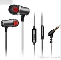 universelle zelle mobile großhandel-Verdrahteter Kopfhörer-Ohrhörer im Ohr-Luxus-Stereo-Noise Cancelling Bass für beweglichen Handy PC Computer-Laptop