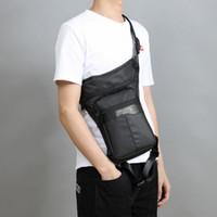 мешок ноги водонепроницаемый падение оптовых-Men Waterproof Waist Leg Bag Drop Travel Motorcycle Oxford Tactical Bags