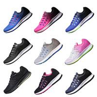 Wholesale b 33 - New Arrival Zoom Pegasus 33 Shoes Women Running Shoes Men Air Sports Sneakers Knit Lunar Trainers Triple Shoes