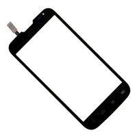 передние панели оптовых-100% TEST Black High Quality 4.5 Inch Touch Screen Digitizer Front Glass Panel For L70 D325 Lens Sensor Panel 4.5