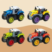 Wholesale electric cars models for sale - Group buy Children Electric Power Stunt Tip Lorry Cartoon Beneficial Wisdom Car Model Toy Fun Tram Gift For Kid mr W