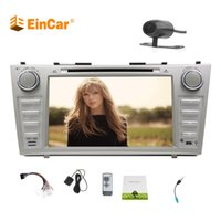 Wholesale anti toyota - Car DVD Stereo Bluetooth GPS Navigation for Toyota Camry Car before 2012 8''Head Unit Double Din SD Card Map Backup camera Car Anti-Slip
