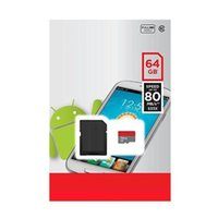 Wholesale Memory 64g - New arrives 64GB Class 10 Micro SD TF Memory Card Retail Blister Package micro SD 64G Card