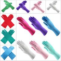 Wholesale satin gloves fingering resale online - Kids Girls Long Gloves For Halloween Christmas Costume Cosplay Princess Dress Up Satin Full Finger Glove Party Wedding Gloves Gifts WX9