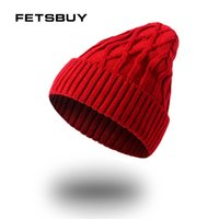 колпак для мужчин черный оптовых-FETSBUY Bonnet Fashion Caps Skullies Black Mask Wool Warm Hat  Winter Beanies Men Winter Hats For Men Women Knitted Hat