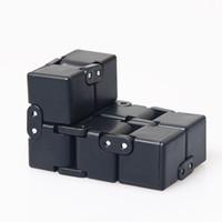 лучшие игрушки снятия напряжения оптовых-Бесконечность куб мини непоседа игрушки палец ВДГ тревоги снятия стресса Magic Cube блоки взрослых детей дети смешные игрушки лучший подарок DHL