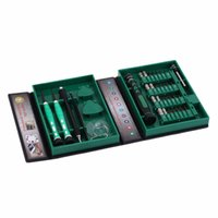 Wholesale Tool Box Screwdriver Set - Repair tool kit electronic repairing screwdriver 38 in 1 set of tools instruments cell phone With box