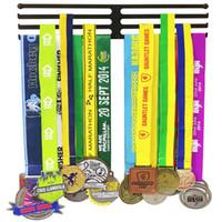 Three Rack Iron Sport Medal Hanger Medal Rack