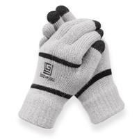 gants acryliques achat en gros de-Les hommes en gants peuvent toucher l'écran en hiver et porter du velours de laine et des gants épais