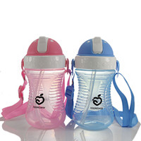 Wholesale Apple Bear Baby Learn to Drink Cup ML Bottle with Handle Sippy Cup Leakproof Baby Drinking Cup
