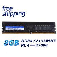 desktop ddr al por mayor-Ddr4 8 gb KEMBONA Marca de fábrica Nuevo PC de sobremesa DDR4 8GB 8G 2133 mhz PC17000 1.2 V 2666 MHZ compatible con memoria RAM de escritorio para INTEL para A-M-D