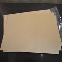 Wholesale A4 Side - Wholesale 50pcs A4 Kraft paper Adhesive Paper Sticker Paper Fit Inkjet Printer