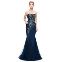 c07e8edf1 Vestido AL920 Peacock Grace Karin Vestidos de noche púrpuras 2018 Nueva  llegada vestido largo del partido más tamaño vestidos de noche formales