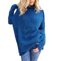 Wholesale Womens Black Turtleneck Sweater - Women Sweaters And Pullovers With Turtleneck Autumn Winter Sweater Womens 2017 Long Sleeve Knitted Female Solid Clothing