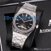 ce089d8b8bc 9 cores marca de luxo à prova d  água volante siliver relógios homens 2  ponteiro mecânico automático aaa assistir AAA réplicas de relógios de pulso