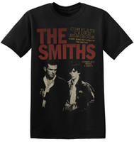 vintage band t-shirts großhandel-Das Smiths-T-Shirt BRITISCHER Vintager Rock-Band-neuer grafischer Druck-Unisexmann-T-Stück 1-A-022 neue Herrenmode-Kurzhülse T-Shirt Mens