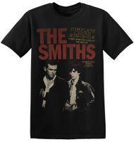 chemises de mode graphiques hommes achat en gros de-The Smiths T Shirt UK Vintage Rock Band Nouveau Graphic Print Unisexe Hommes Tee 1-A-022 New Men'S Fashion T-Shirt à manches courtes Hommes
