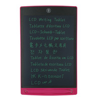 Wholesale Rose Red Inch LCD Writing Tablet Drawing Board Paperless Notepad Electronic Blackboard Erasable Slate Pad Stylus Jot Note ewriter