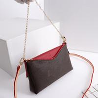 c986ec7e68 PALLAS CLUTH sac à main de marque de luxe femmes Sacs à bandoulière Mode  designer français sac 4 couleur taille 23x13x5 cm modèle 4163801