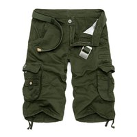 c1ca54086d Wholesale military pants new style online - New Men Cargo Shorts Casual Loose  Short Pants Camouflage