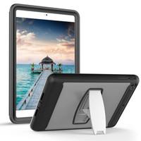Wholesale ipad shock proof cover - Portable Safe Foam Shock Proof EVA Handle Cover Stand Case for iPad mini 1234 2 3 4 5 6 Pro